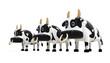 牛のCG_3頭