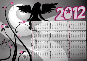 Gothic calendar 2012
