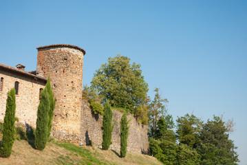 torre di cinta del borgo di Rivalta