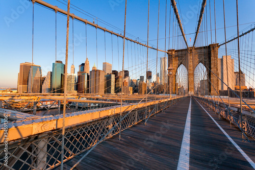 Zdjęcia na płótnie, fototapety na wymiar, obrazy na ścianę : Pont de Brooklyn New York