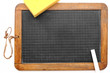 Alte Schiefertafel aus der Schule