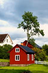 Bauernhof in Småland, Schweden