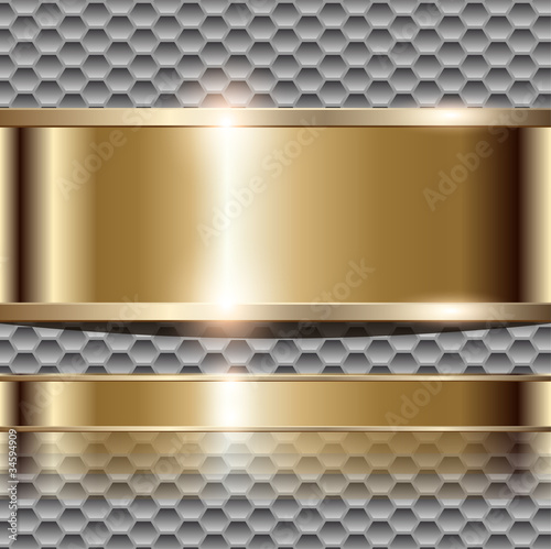 Abstract background luxury gold.
