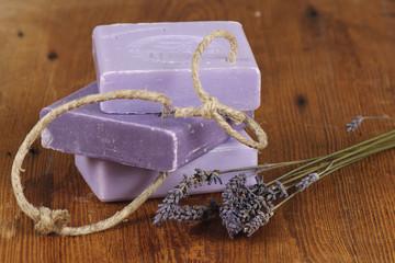 purple lavender soap