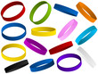 Set of colorful wristband - 34598754