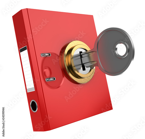 binder folder locked