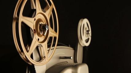 Film Spools on Projector