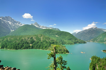 The Diablo Lake View