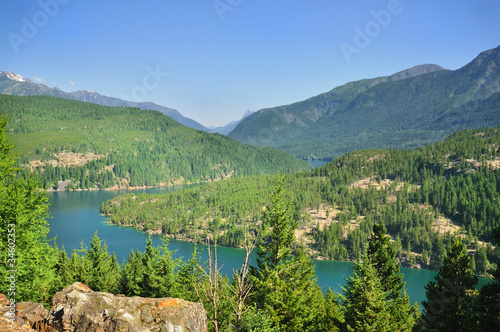 The Ross lake view