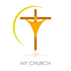 Logo Christian church # Vector