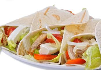 Tortilla mexicana.