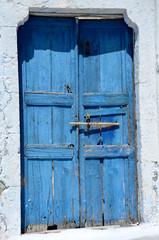 Türe in Santorin - Griechenland