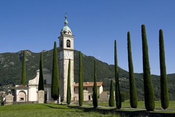 Kirche Sant Abbondio im Tessin