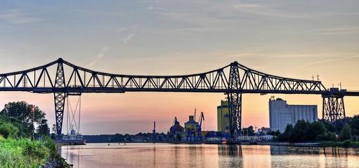 Hochbrücke über den Nord-Ostsee-Kanal