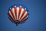 Patriotic Hot  Air Balloons