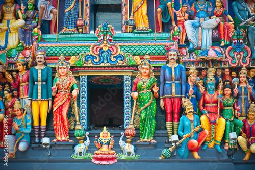 Aluminium Singapore Sri Mariamman Temple, Singapore's oldest Hindu temple