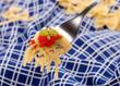 spaghetti al caviale rosso - quattro