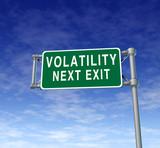 Volatility poster