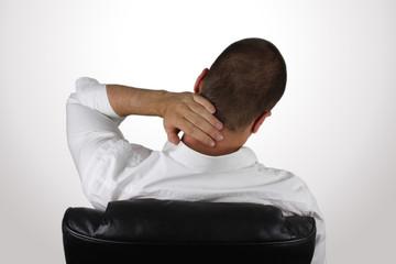 Nackenschmerzen am Arbeitsplatz