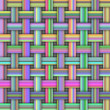 A Woven Abstract Background Pattern