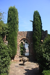 Promenade au chateau de La Napoule