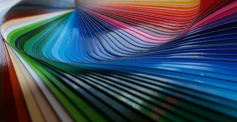 Farbfächer Werbetechnik