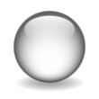 GREY WEB BUTTON (vector template round gel internet click here)