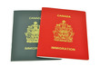 immigration documents from Canada
