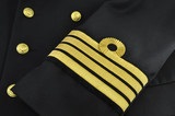 navy uniform, captain
