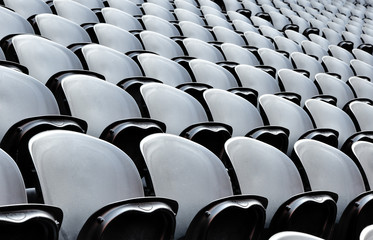 Seats on the stadion