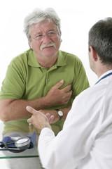 Troubles cardiaques - consultation avant hospitalisationn