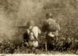 Leinwanddruck Bild - World War II soldiers