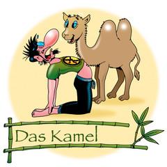 Hatha Yoga Asanas: Das Kamel