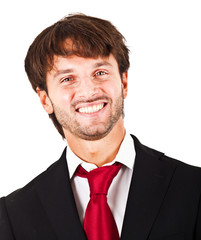 Smilling businessman portrait