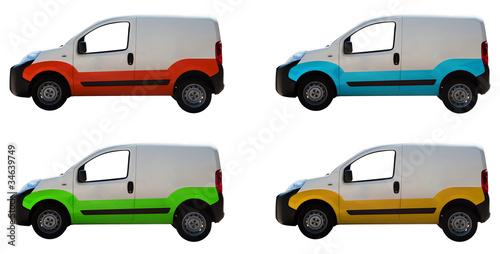 White vans