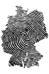 Fingerabdruck Deutschland