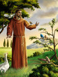 Leinwanddruck Bild - Saint Francis