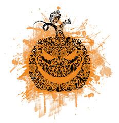 Pattern in a shape of a pumpkin.