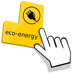 Eco-energy icon