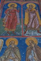 monastero di Moldovita, affresco