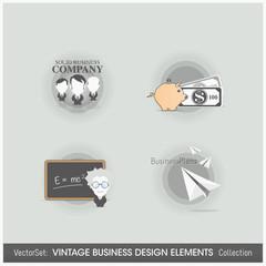 Design Elements: Business icons set