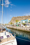 Harbour in Puerto de Mogan