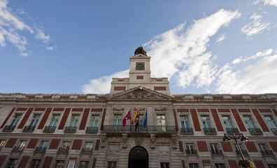 Palace of Plaza Mayor in Madrid, Spain