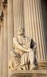 Vienna -  Rome historian Taciuts statue  - parliament