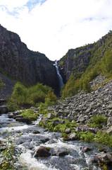 Schweden Dalarna Fulufjäll Nationalpark Njupeskär