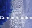 Communication background concept