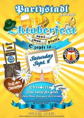 Oktoberfest Plakat Flyer