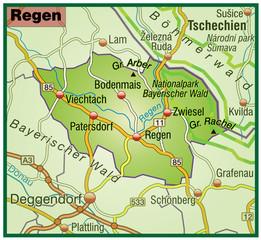 Landkreis Regen variante 5