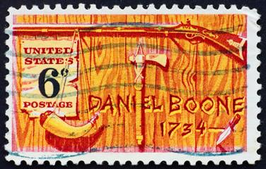 Postage stamp USA 1968 Daniel Boone