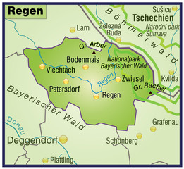Landkreis Regen variante 8
